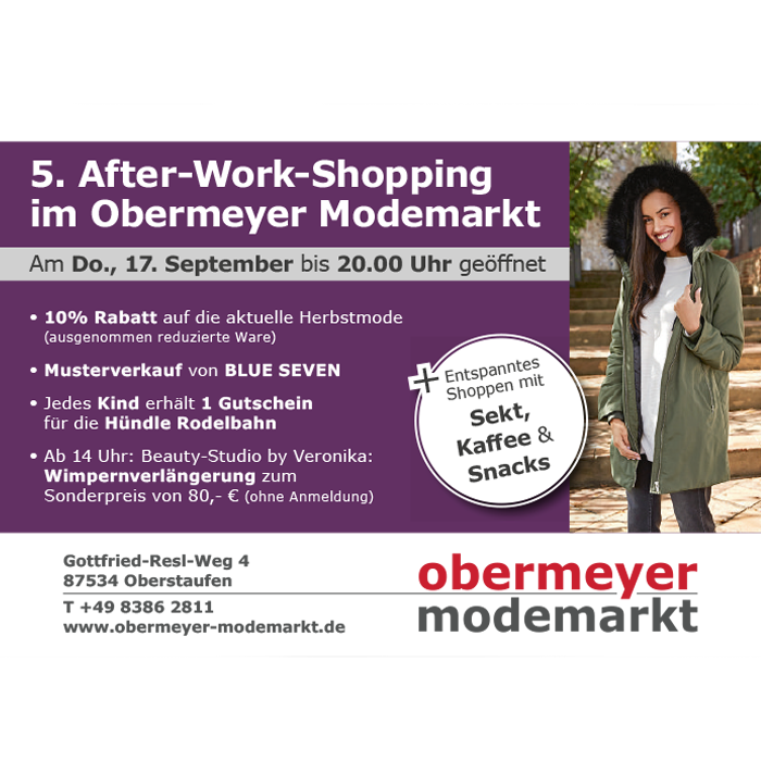 5. After-Work-Shopping